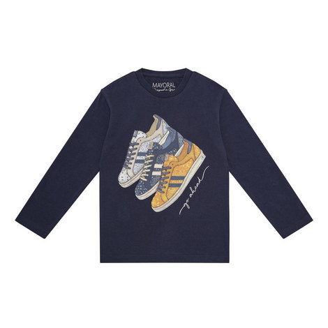 Trainers Long Sleeve T-Shirt Kids, ${color}