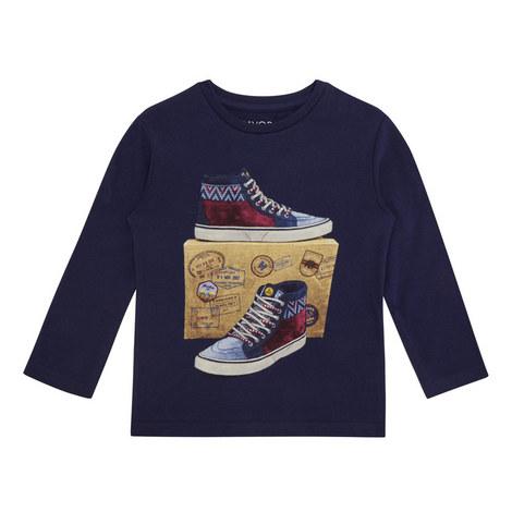 Trainer Print T-Shirt, ${color}