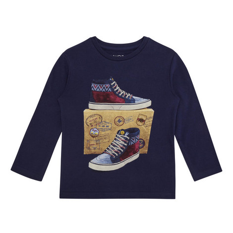 Trainer Print T-Shirt Kids, ${color}