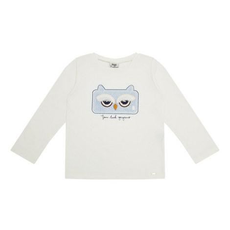 Textured Owl Top Kids, ${color}