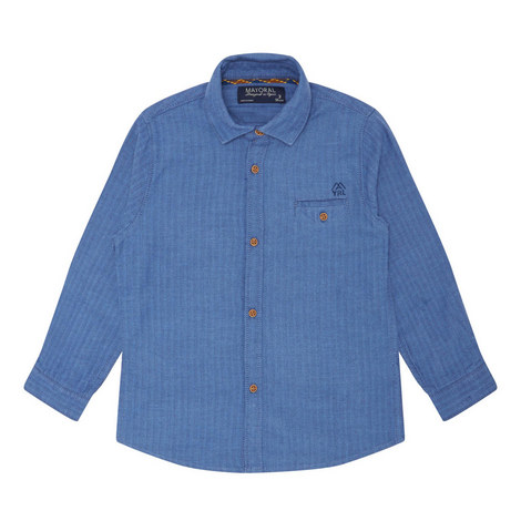 Button-Down Shirt - 3-9 Years, ${color}