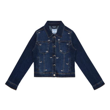 Embellished Denim Jacket, ${color}