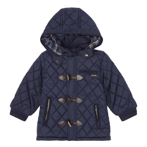 Quilted Hooded Jacket - 3-9 Years, ${color}