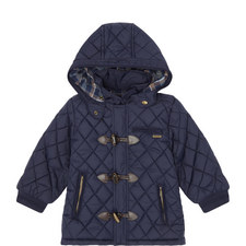 Quilted Hooded Jacket - 3-9 Years