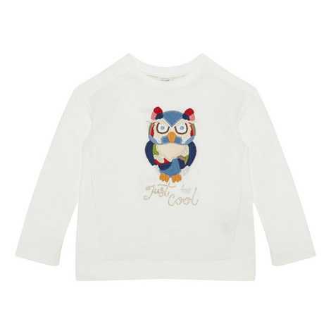 Owl Sweatshirt Kids, ${color}
