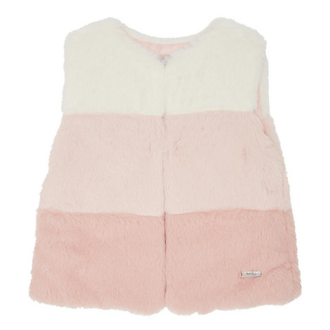 Faux Fur Gilet - 3-9 Years, ${color}