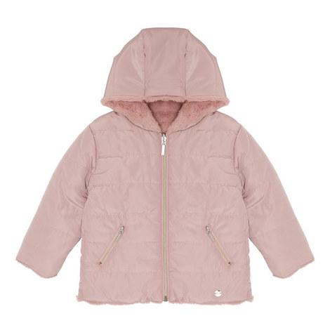Reversible Faux Fur Coat Kids, ${color}