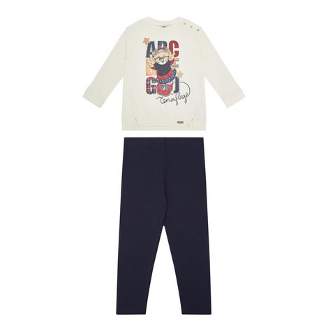 Bear Sweatshirt & Legging Set Kids, ${color}