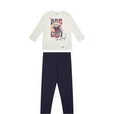 Bear Sweatshirt & Legging Set Toddler