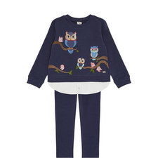 2-Piece Top and Leggings Set Kids