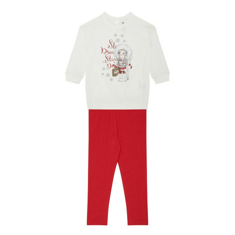 Leggings and Top Set - 3-9 Years, ${color}