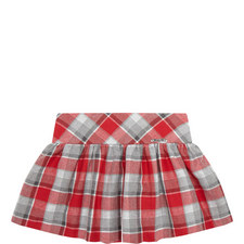 Check Pattern Skirt Kids