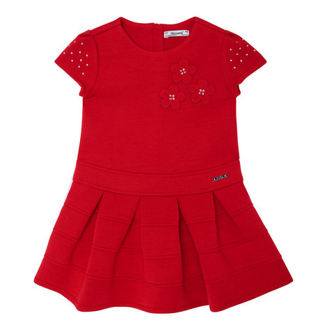 Short Sleeve Dress Toddler, ${color}