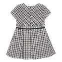 Check Short Sleeve Dress Toddler, ${color}