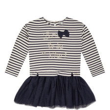 Stripe Tulle Dress Kids