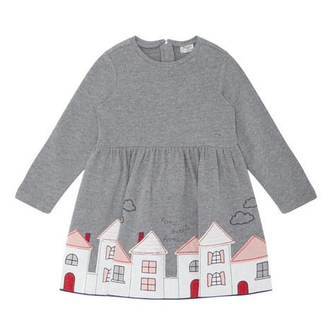 House Appliqué Dress Kids, ${color}