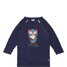 Owl Sweatshirt Dress Kids