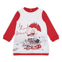 Festive Sweater Dress Toddler , ${color}