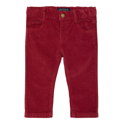 Slim Fit Corduroy Trousers Baby, ${color}