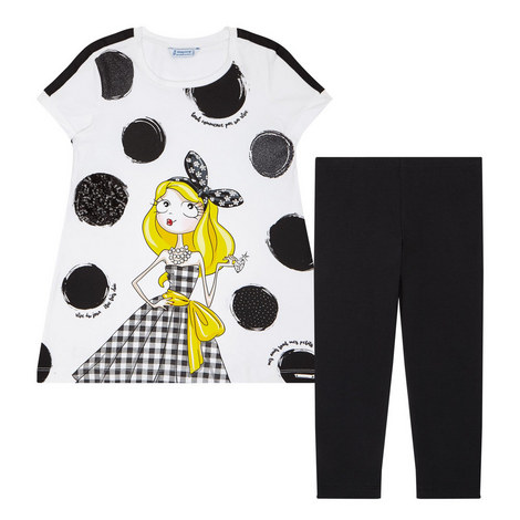 Two-Piece Leggings & T-Shirt Set , ${color}