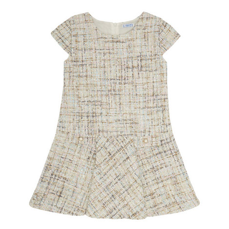 Lurex Tweed Dress, ${color}