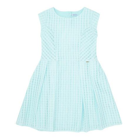 Textured Skater Dress , ${color}