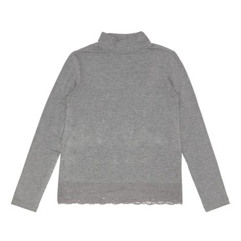 Grey Silver  Stud Polo, ${color}