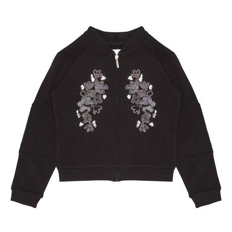 Sequin Jersey Jacket Kids, ${color}