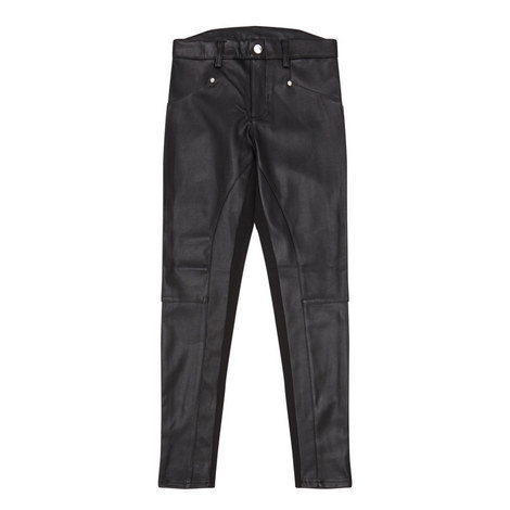 Leather-Look Trousers Kids, ${color}