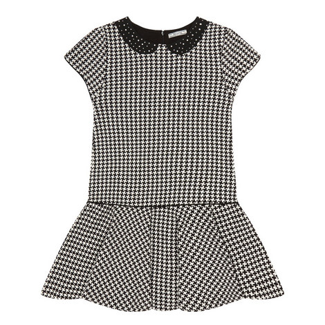 Houndstooth Dress Kids, ${color}