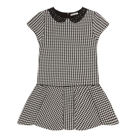 Houndstooth Dress Teens, ${color}