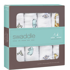 Jungle Jam Muslin Swaddle (4-Pack)