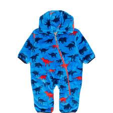 Dino Fuzzy Fleece Bundler Baby
