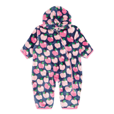 Apple Orchard Fuzzy Fleece Bundler Baby, ${color}