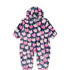 Apple Orchard Fuzzy Fleece Bundler Baby