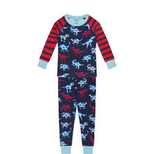 Dinosaur Print Pyjamas - 3-10 Years