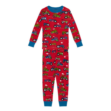 Tractor Pyjama Set Kids - 3-10 Years, ${color}