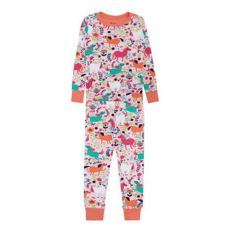 Printed Pyjama Set Toddler, ${color}