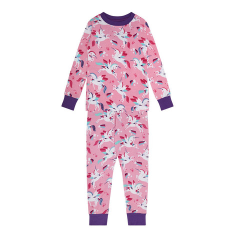 Winged Unicorn Pyjamas - 3-10 Years, ${color}