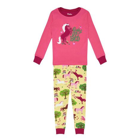 Pony Pyjama Set - 3-10 Years, ${color}