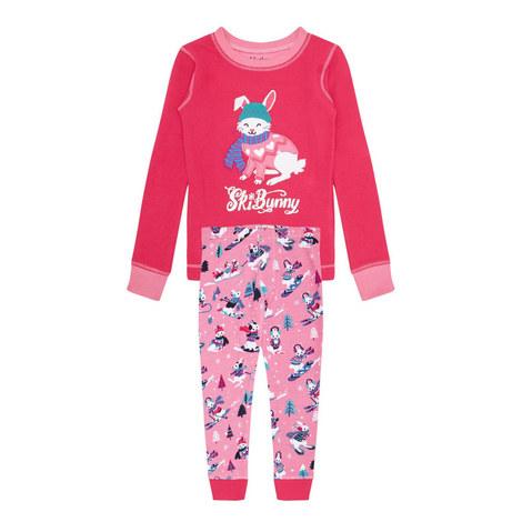 Winter Sports Bunny Pyjama Set, ${color}
