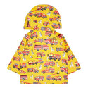 Fire Truck Raincoat Baby, ${color}