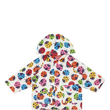 Rainbow Ladybird Raincoat Baby