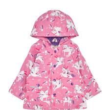 Winged Unicorn Raincoat Baby