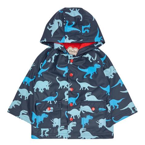 Dinosaur Shadows Raincoat - 2-8 Years, ${color}