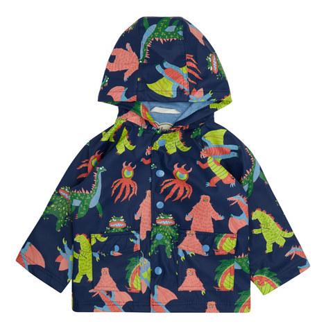 Mega Monster Raincoat Toddler, ${color}