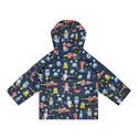 Space Aliens Raincoat - 2-8 Years, ${color}