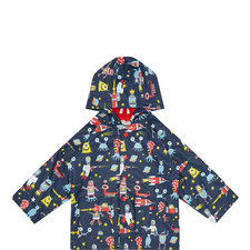 Space Aliens Raincoat Kids
