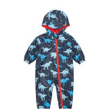 Dinosaur Print Rain Bundler Baby