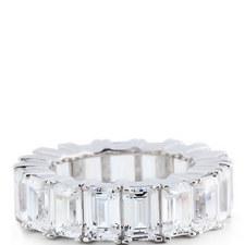 Crystal Baguette Ring Large